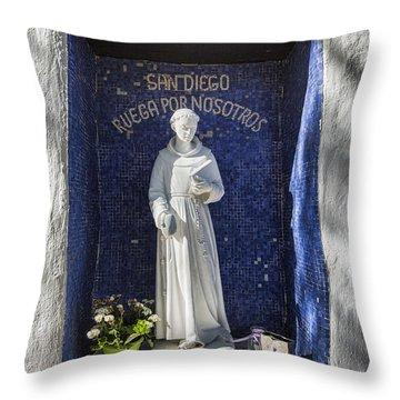 Saint Didacus Throw Pillow
