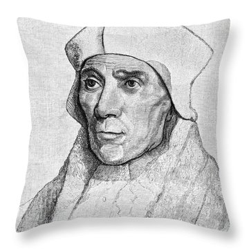 Saint John Fisher Throw Pillow by Granger