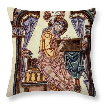 Saint John Throw Pillow by Granger