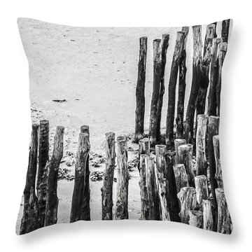Throw Pillow featuring the photograph Saint Malo by Delphimages Photo Creations