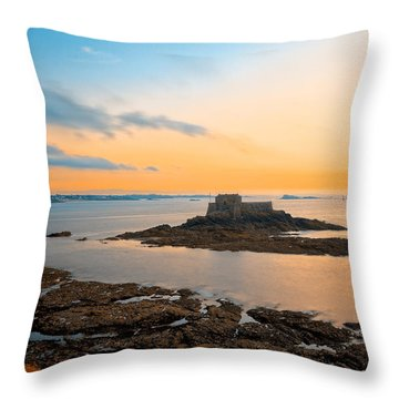 Saint-malo Twilight 2 Throw Pillow