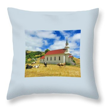 St. Mary's Visitors Throw Pillow