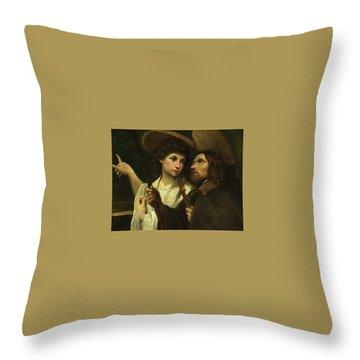 Saint Roch Throw Pillows Fine Art America