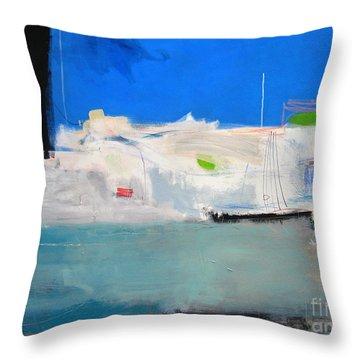Saint-tropez Throw Pillow