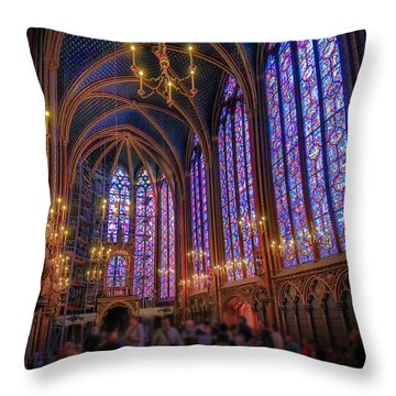 Sainte-chapelle Throw Pillow
