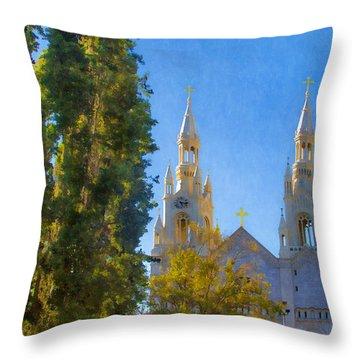 Saints Peter And Paul Church Throw Pillow