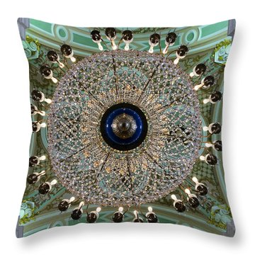 Saints Peter And Paul Fortress Throw Pillow