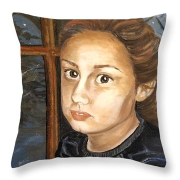 Sakora Throw Pillow