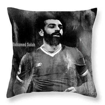 Salah Mohamad  Throw Pillow