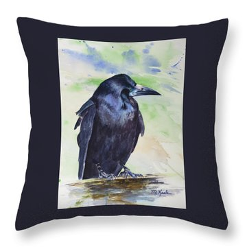 Salisbury Sentinel - Rook Throw Pillow