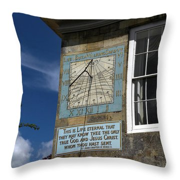 Salisbury Sundial Throw Pillow