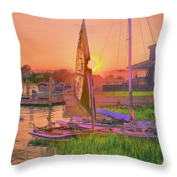 Sailor's Rest Throw Pillow