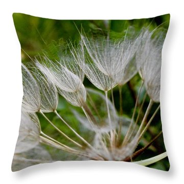 Salsify  Throw Pillow