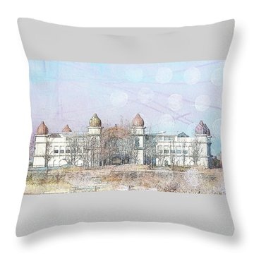 Throw Pillow featuring the photograph Salt Air by Cynthia Powell