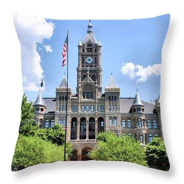 Salt Lake City County Building Throw Pillow