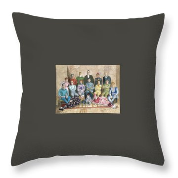 Saltimbanques Throw Pillow