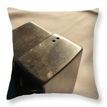 Saltpepper Throw Pillow