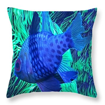 Saltwater Throw Pillow