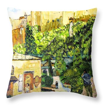 Saltzburg Throw Pillow