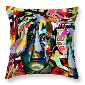 Salud Throw Pillow by Sladjana Lazarevic