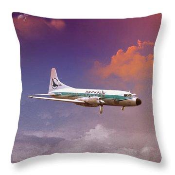 Salute To Herman Throw Pillow