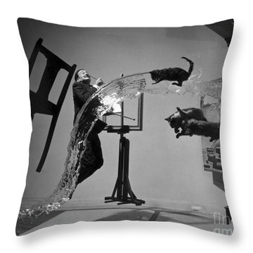 Salvador Dali 1904-1989 Throw Pillow by Granger