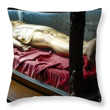 Throw Pillow featuring the photograph Salvador Dali Museum Church Of St.peter by Gregory Dyer