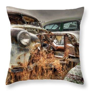 Salvage Time Throw Pillow