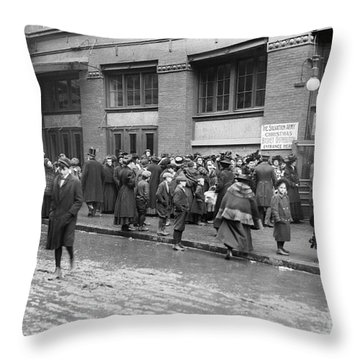 Salvation Army, 1908 Throw Pillow by Granger