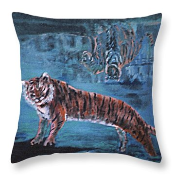 Salvato Dalle Acque Throw Pillow