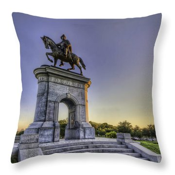 The Original Houstonian Throw Pillow