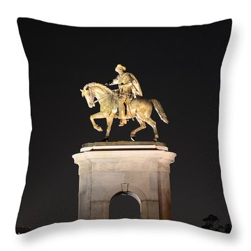 Sam Houston  Throw Pillow