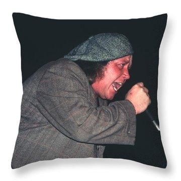 Sam Kinison Throw Pillow by David Plastik