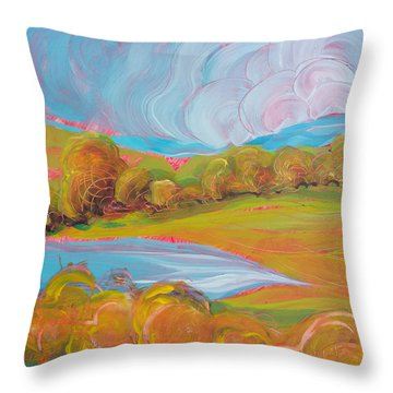 Samaritan Drive 5 Throw Pillow