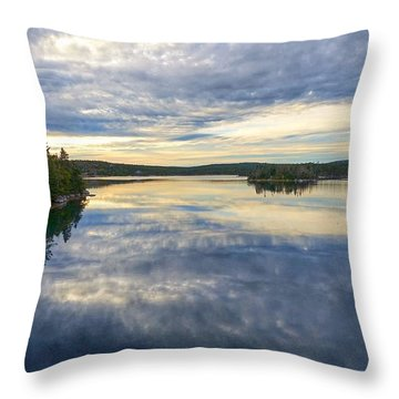 Sambro Basin I Nova Scotia Throw Pillow