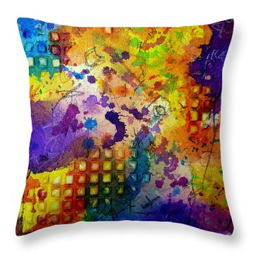 Same Old Story Throw Pillow