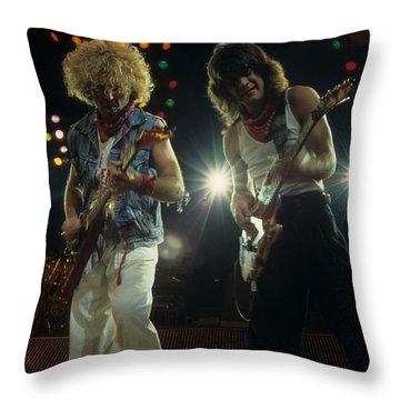 Sammy And Eddie 5150 Throw Pillow