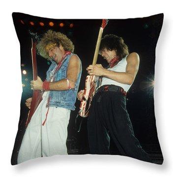 Sammy And Eddie Throw Pillow