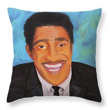 Sammy Smiles Throw Pillow