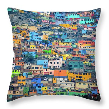 San Cristobal Throw Pillow
