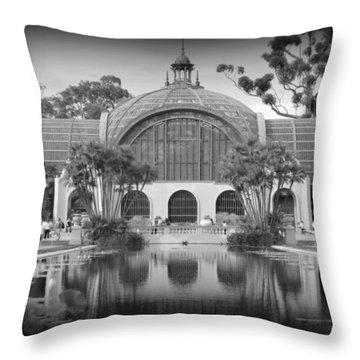 San Diego Botanical Foundation Throw Pillow by Karyn Robinson