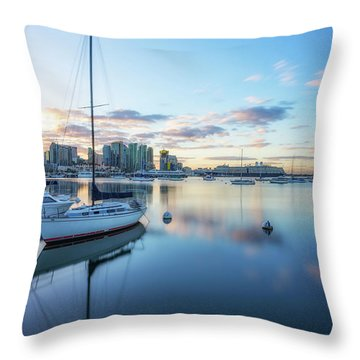 San Diego Calm Throw Pillow