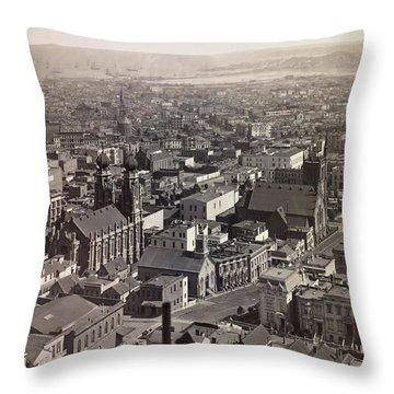 San Francisco 1878 Throw Pillow