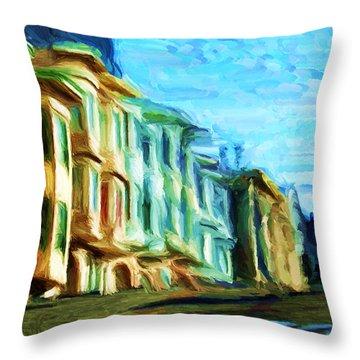 Frisco Street Homes Throw Pillow