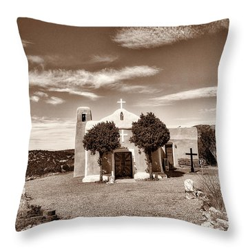 San Francisco De Asis  Est 1839 Throw Pillow