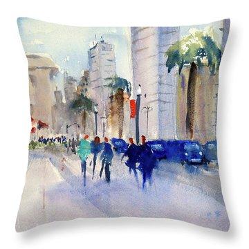 San Francisco Embarcadero1 Throw Pillow