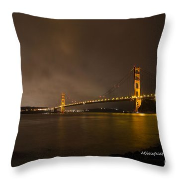 San Francisco- February Throw Pillow