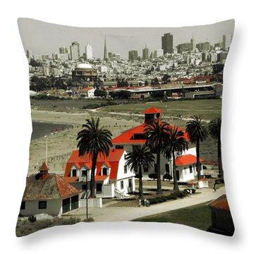 San Francisco Panorama 2015 Throw Pillow