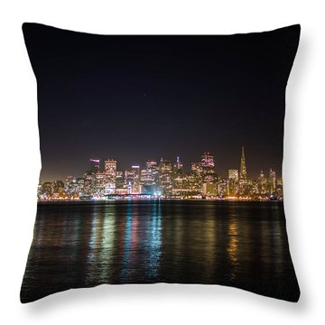 San Francisco Shot Throw Pillow