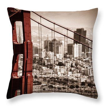Architecture Throw Pillows
